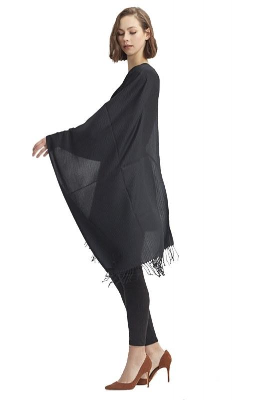 Plain Shawl (Black)