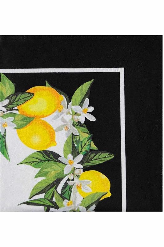 Beach Towel (Lemon)