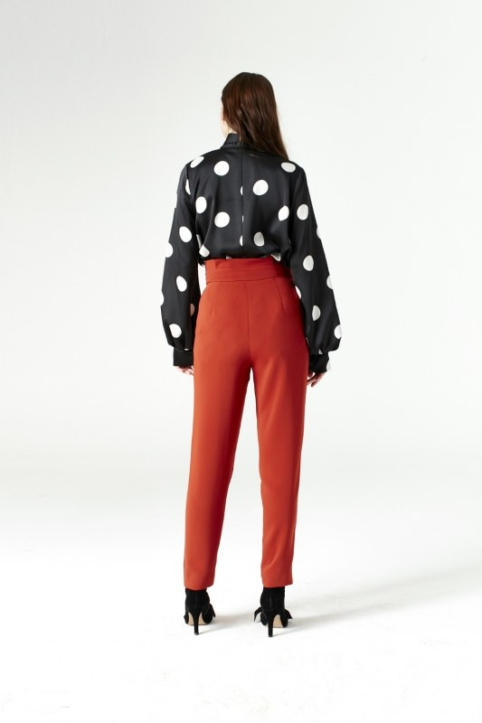 Polka Dot Shirt (Black)