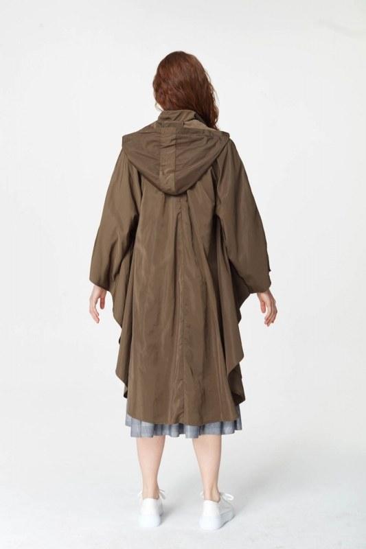 معطف واق من المطر (الكاكي)