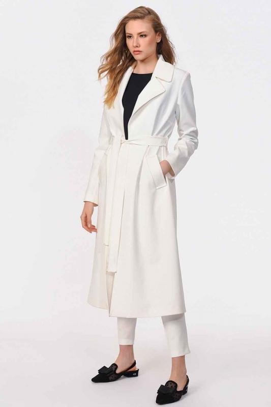Premium Luxury Trenchcoat (Ecru)