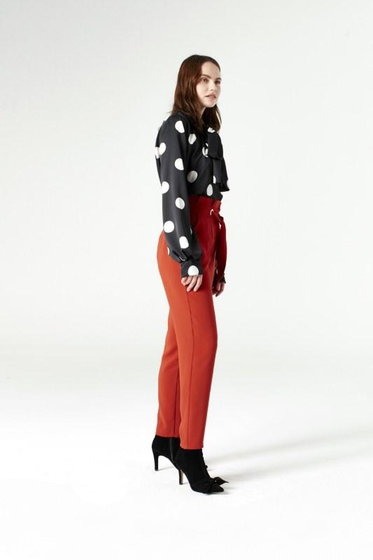 Polka Dot Shirt (Black)