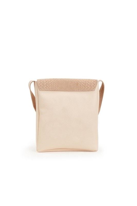 Tassel Shoulder Bag (Beige)