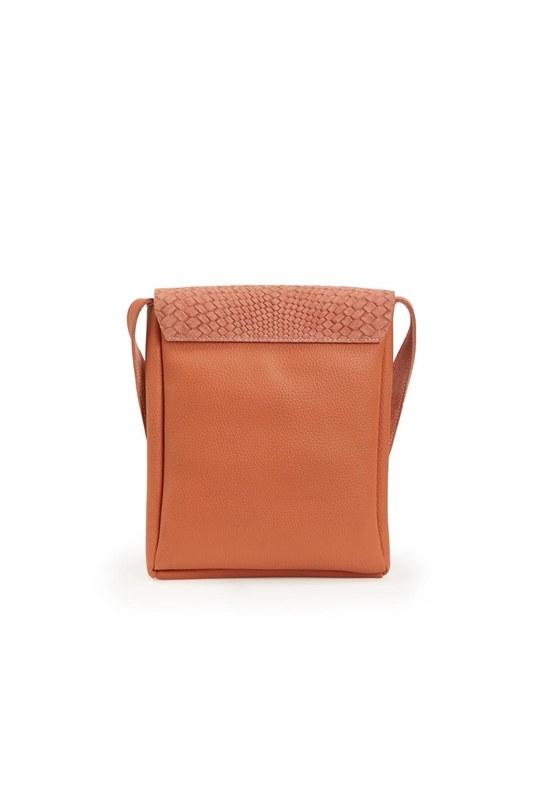 Tassel Shoulder Bag (Salmon)
