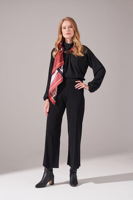 Rayon Basic Pantolon (Siyah) - Thumbnail