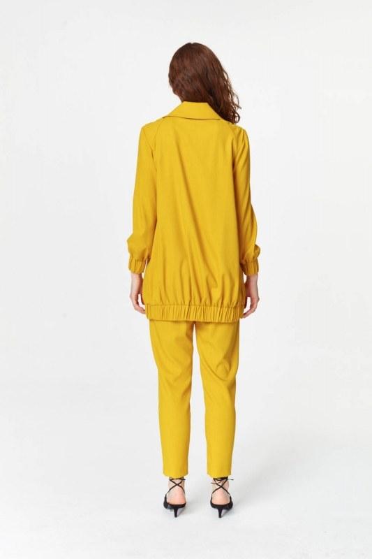 Regular Collar Jacket (Saffron)