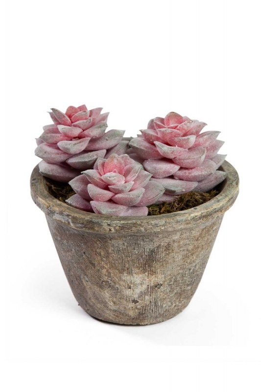 Potted Artificial Flower (14X14X14)