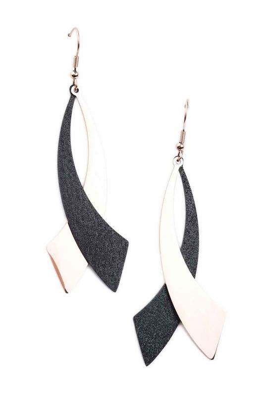 Dangling Steel Earrings (St)
