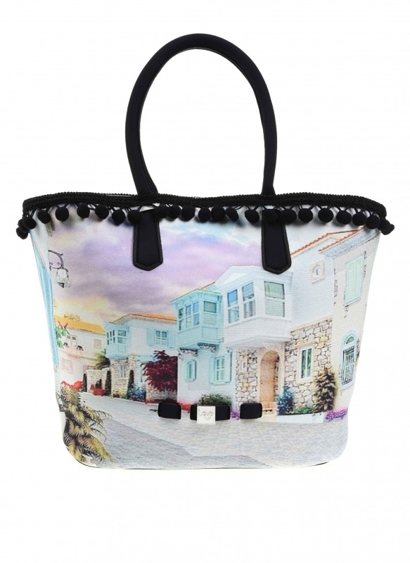 Pompom Detail Bag (Alacati)
