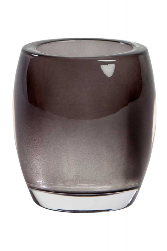 Transparant Glass Candle Holder