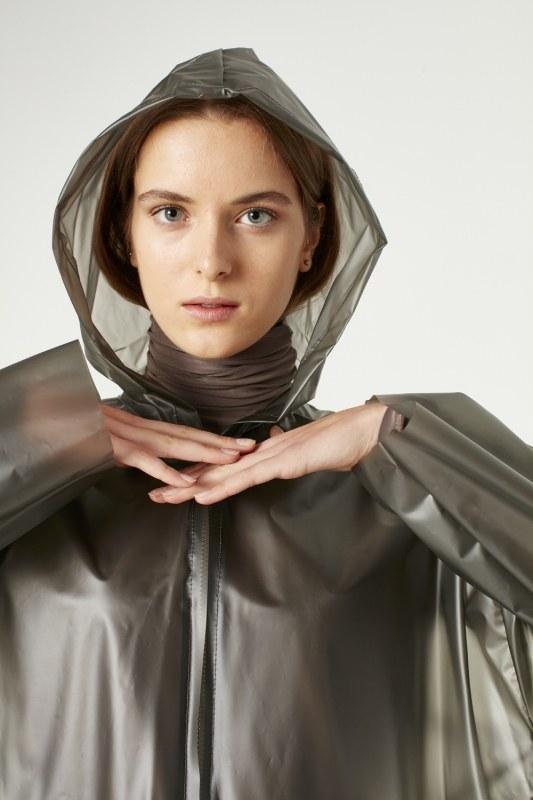Transparent Raincoat (Stone)