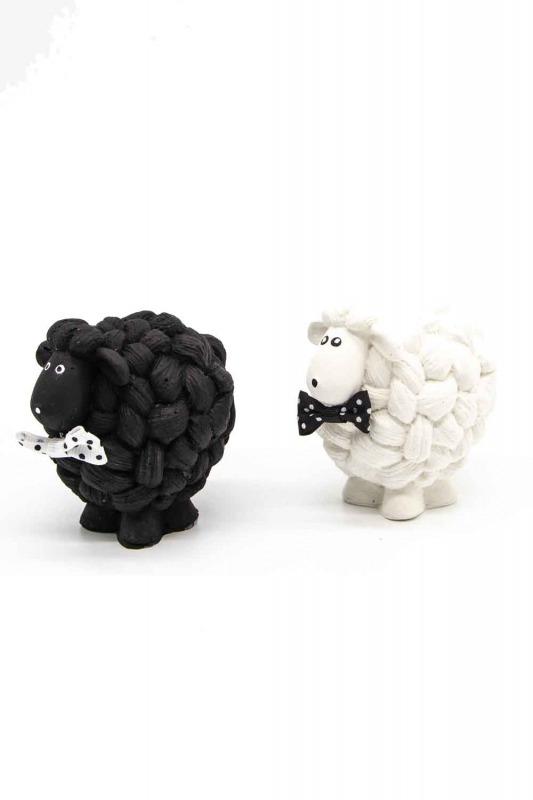 Siyah Beyaz Kuzu Biblo (St)