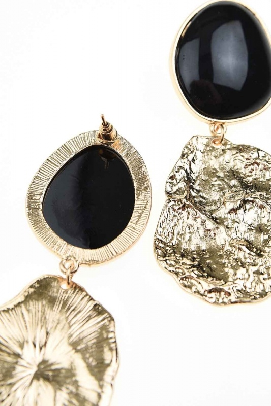 Black Dangling Earrings (St)