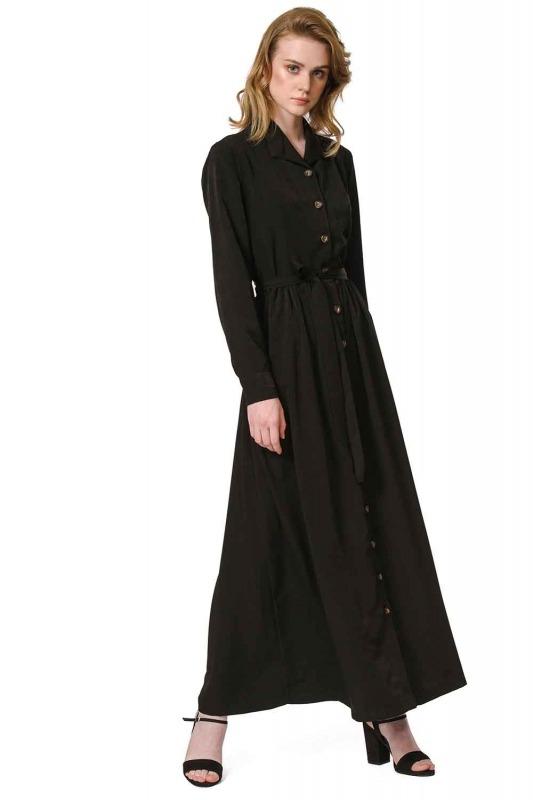 Shirt Dress (Black)