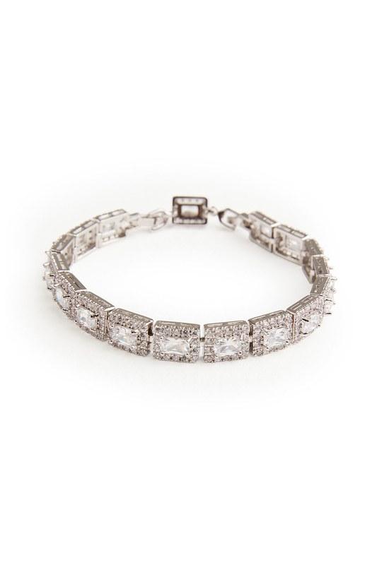 Square Stone Bracelet