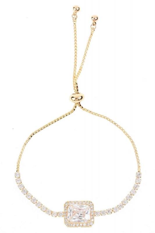 Stone Bracelet (Yellow)