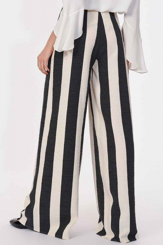 Tasarım Çizgili Pantolon