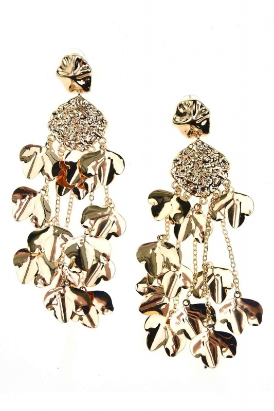 Dangling Design Earrings (St)