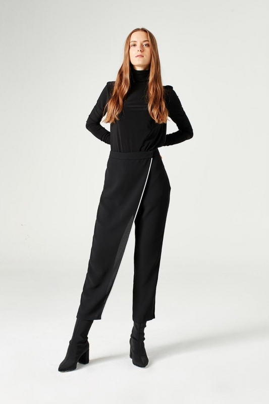 Trouser Skirt (Black)