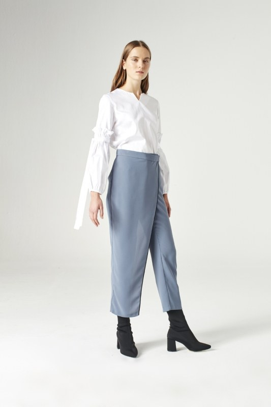Trouser Skirt (Indigo)