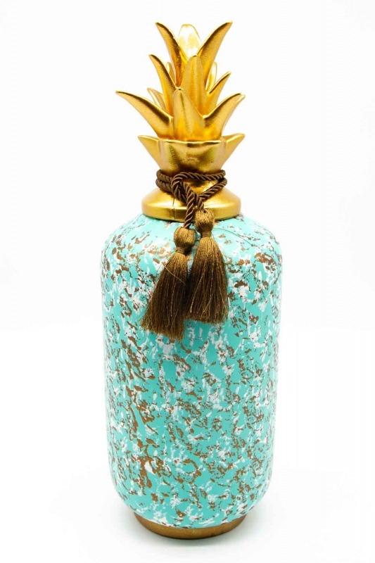 Decorative Triple Pineapple Trinket (St)