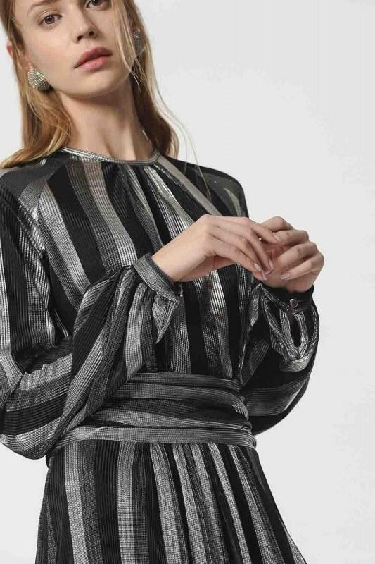 Gilded Dress (Black)