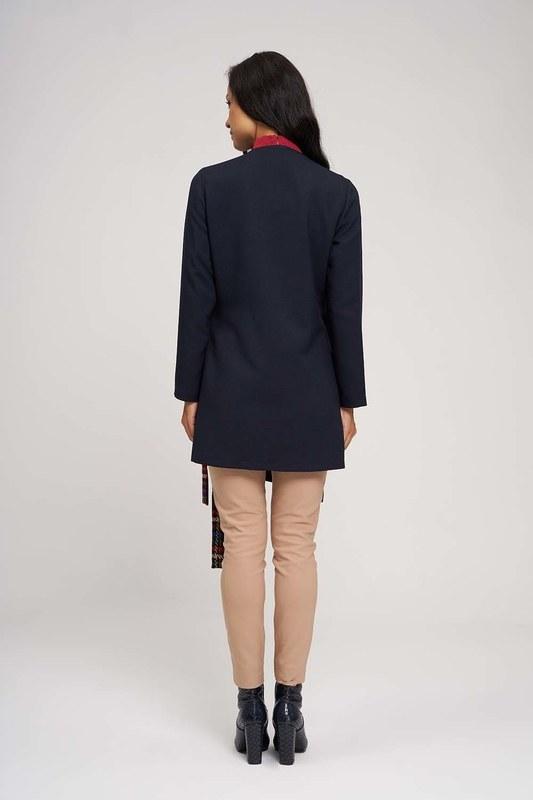 Side Binding Kimono (Dark Blue)