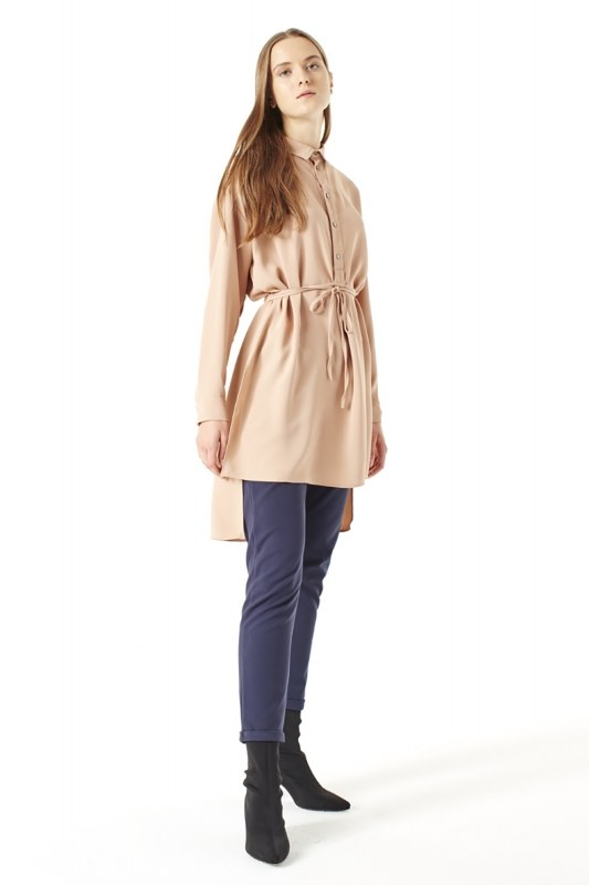 Side Slit Tunic (Brown)