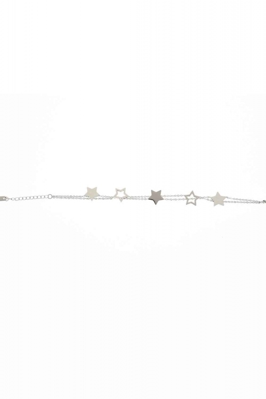Starry Steel Bracelet (Silver)