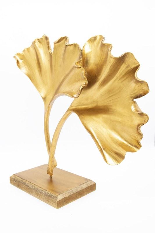 Yonca Dekoratif Obje (Altın)