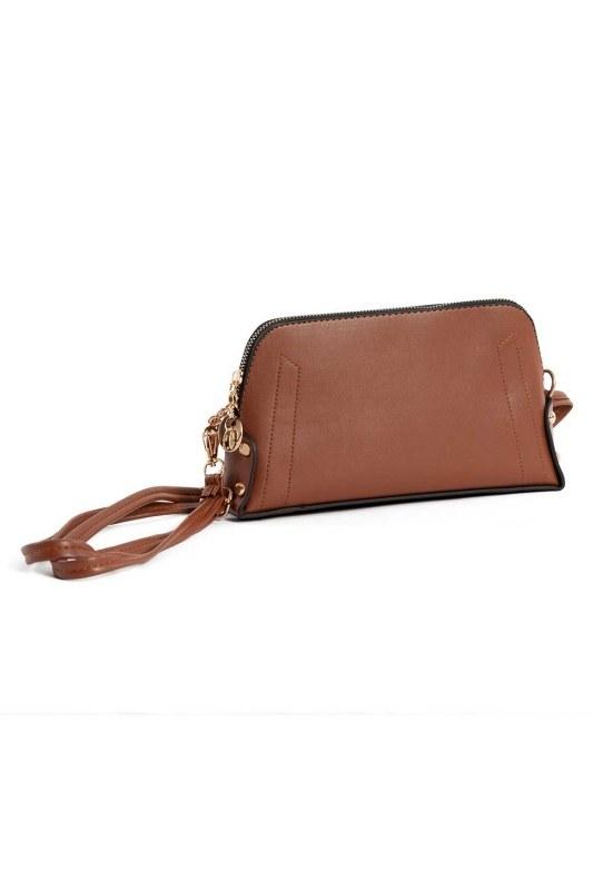 Mini Shoulder Bag (Tan)