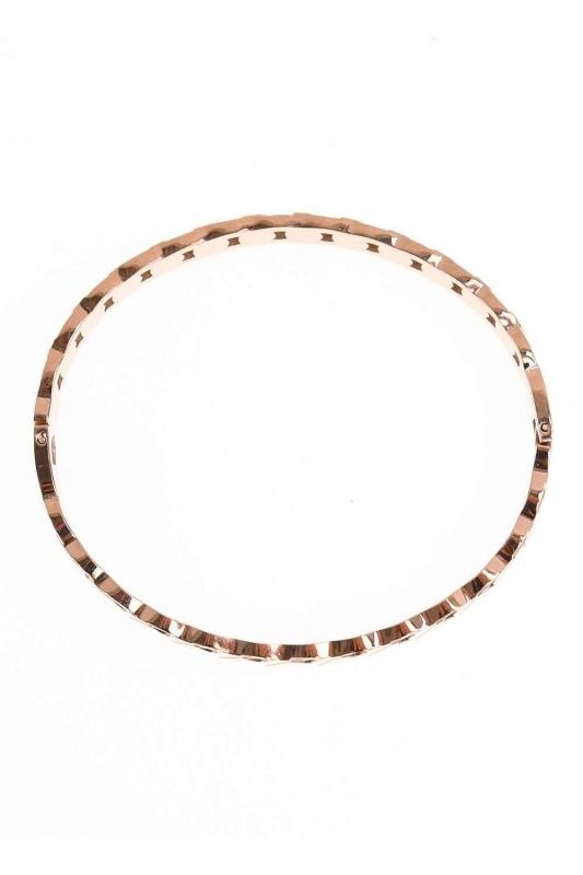 Chain Patterned Steel Bracelet (St)